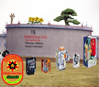 Original-Lager Heizöl vom Fass Alternativheizöl Bio